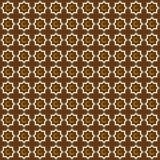 无缝的样式伊斯兰教的装饰品 与无缝的样式的背景在伊斯兰教的样式 库存照片