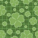 无缝的样式圣Patricks天 向量 免版税库存图片