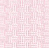 无缝的样式桃红色白色 库存图片