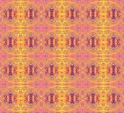 无缝的样式桃红色黄色紫色 向量例证