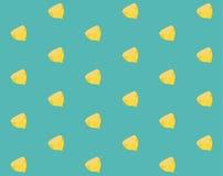 无缝的样式用切的柠檬 图库摄影