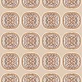 无缝的样式用拿铁艺术咖啡 免版税库存图片