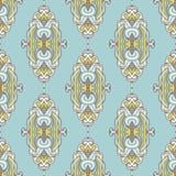无缝的样式皇家豪华古典锦缎 免版税图库摄影