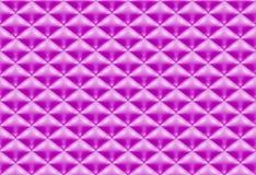 无缝的样式紫色缝制的织品 库存例证