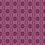 无缝的样式红色紫罗兰色褐色 免版税库存照片
