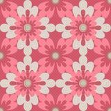 无缝的样式花卉元素纹理背景 库存图片