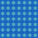 无缝的样式蓝色绿松石 向量例证