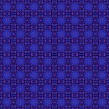 无缝的样式蓝色紫色 库存图片
