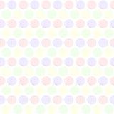 无缝的样式螺旋五颜六色的背景 库存图片