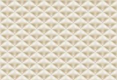 无缝的样式褐色缝制的织品 皇族释放例证