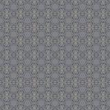 无缝的样式银灰色 库存例证