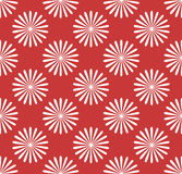 无缝的样式,与花主题的墙纸 简单的monochrom 免版税库存图片
