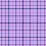 无缝的样式,格子花呢披肩, tarane,淡紫色 免版税库存图片