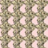 无缝的样式-墙纸的纹理 向量例证