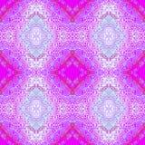 无缝的样式紫罗兰色蓝色 免版税库存图片