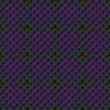 无缝的样式紫罗兰色紫色深绿 免版税库存照片