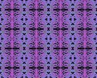 无缝的样式紫色桃红色 向量例证