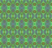 无缝的样式绿色红色 向量例证