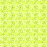 无缝的样式绿色螺旋 免版税库存图片