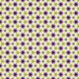 无缝的样式黄色紫罗兰色 免版税库存图片