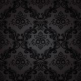 无缝的样式Background.Damask墙纸。 免版税库存照片