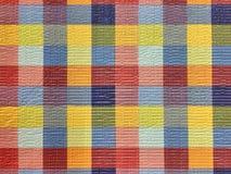 无缝的格子呢织品 免版税库存图片