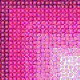 无缝的桃红色圆点样式 免版税库存图片
