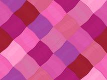 无缝的桃红色毛线样式 库存图片