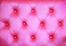 无缝的桃红色皮革纹理背景 库存照片