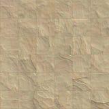 无缝的棕色石砖纹理例证 库存照片
