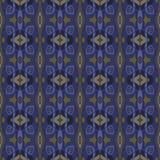 无缝的模式 传染媒介背景纹理 蓝色,青玉,海军,土褐色的颜色 向量例证