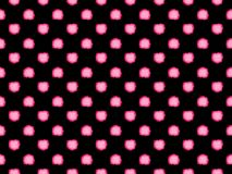 无缝的模式 抽象污点在黑背景的紫罗兰色树荫下 向量 皇族释放例证