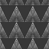 无缝的模式 现代时髦的纹理 几何抽象的背景 免版税库存照片