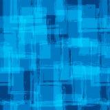 无缝的模式 蓝色颜色 抽象背景 免版税库存照片
