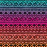 无缝的模式 Boho种族带 部族样式设计 库存照片