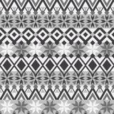 无缝的模式 Boho种族带 部族样式设计 免版税库存照片