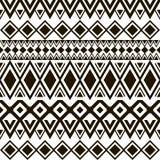 无缝的模式 Boho种族带 部族样式设计 免版税库存图片