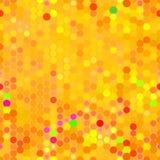 无缝的橙色光点图形 免版税库存照片
