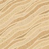 无缝的沙子纹理 免版税库存图片