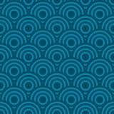 无缝的波动图式背景 向量例证
