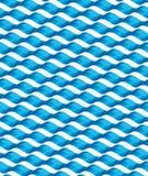 无缝的波浪纹理 免版税库存图片