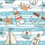 无缝的海运 图库摄影