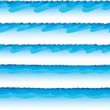 无缝的海洋 免版税库存照片