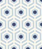 无缝的淡色几何家庭内部的滤网织地不很细样式 库存例证