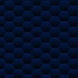 无缝的深蓝多角形传染媒介样式 向量例证