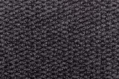 无缝的灰色地毯料纹理 图库摄影