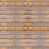 无缝的照片纹理木砖设置 免版税库存照片