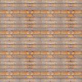 无缝的照片纹理木砖设置 免版税图库摄影