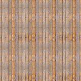 无缝的照片纹理木砖设置 免版税库存图片