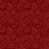 无缝的特征模式墙纸 库存例证